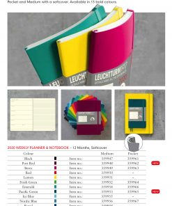 LEUCHTTURM1917 2020 Weekly Planner Notebook Softcover