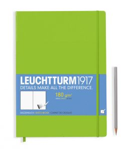 , Sketchbook Master (A4+) 96 Pages (180gsm), Plain, Lime