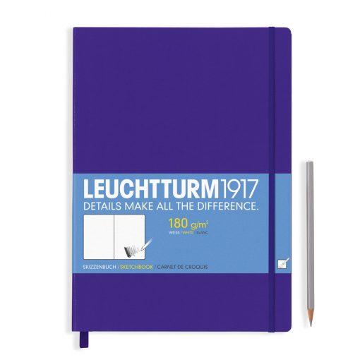 , Sketchbook Master (A4+) Plain, 96 Pages (180gsm), Purple