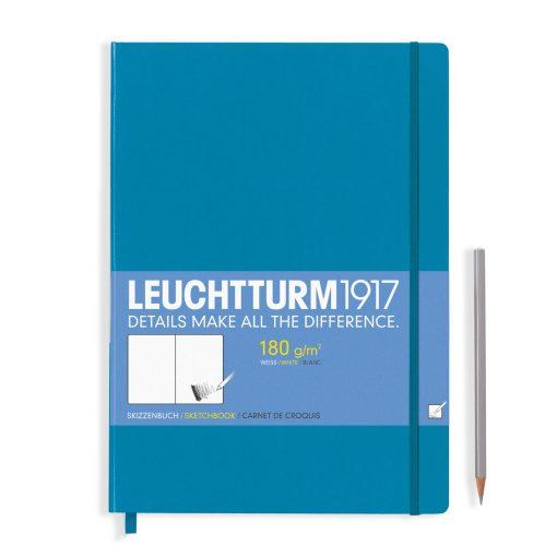 Sketchbooks Sketchbook Master (A4+) Plain, 96 Pages (180gsm), Azure