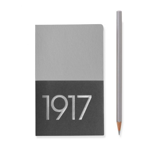 , Jottbook Pocket (A6), 60 Pages, Ruled, Silver, Pack Of Two