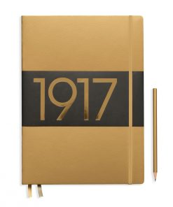 1917 Metallic Edition Notebook Slim Master (A4+) plain, Hardcover, 123 numbered pages, gold