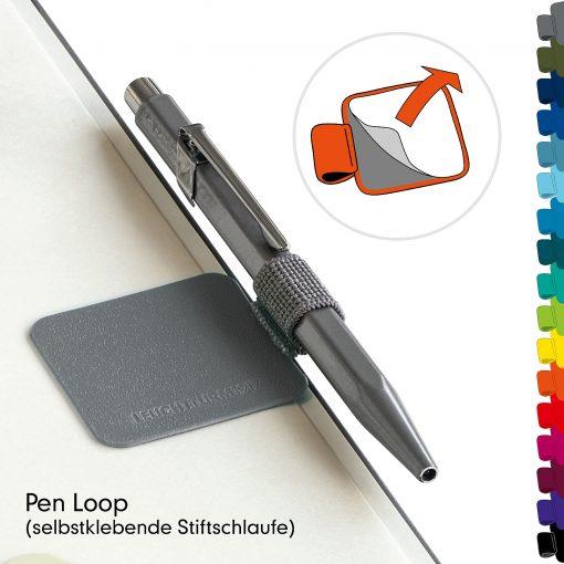 , Pen Loop Silver