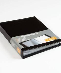 Portfolios Document Album with 60 Pockets (A4) Black