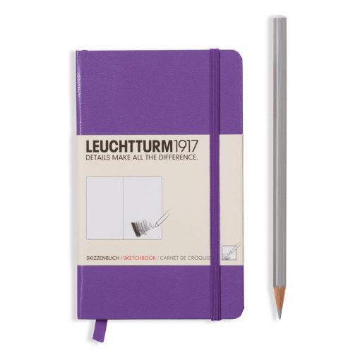 , Sketchbook Pocket (A6) 96 Pages (180gsm), Plain, Lavender