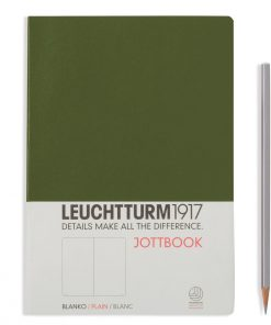 , Jottbook A4, 60 Pages, 16 Pages Perforated, Ruled, Sand