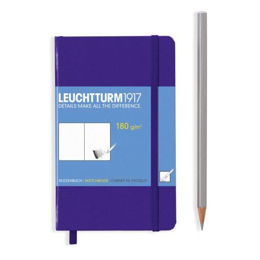 , Sketchbook Pocket (A6) Plain, 96 Pages (180gsm), Purple