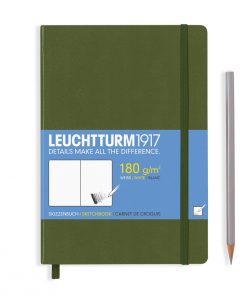 , Sketchbook Pocket (A6) 96 Pages (180gsm), Plain, Berry