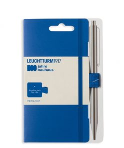 , Notebook Master (A4+), Hardcover, 233 Numbered Pages, Royal Blue, Bauhaus 100