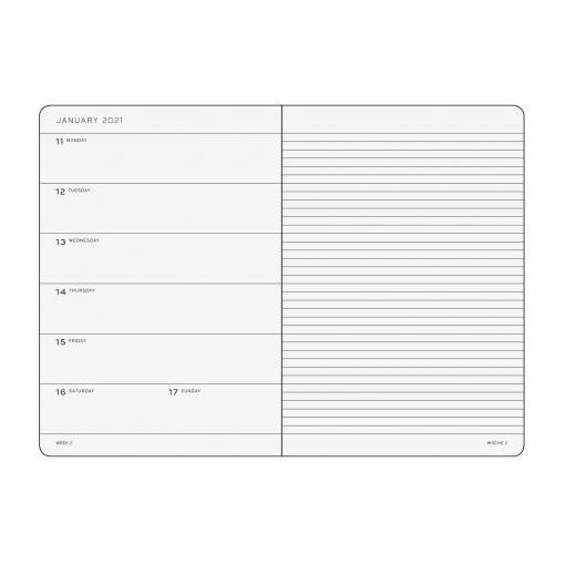 Weekly Planner A5 Notepad
